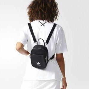 Adidas original mini backpack in black